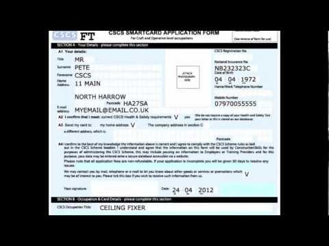 CSCS Online Card Application Software Preview.mp4