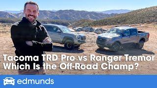 Toyota Tacoma TRD Pro vs. Ford Ranger Tremor | Off-Road Truck Comparison