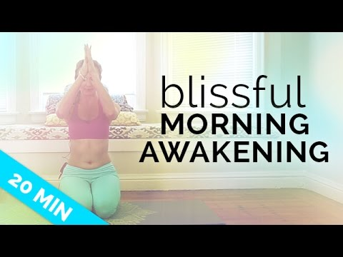 Morning Yoga Routine for Beginners: Blissful Awakening for More Energy (20 mins) For All Levels