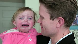 Baby Reacts to Dad Shaving Beard Compilation (2017)