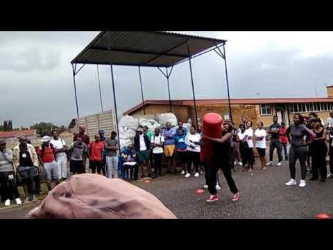 South African SAPS fitness test