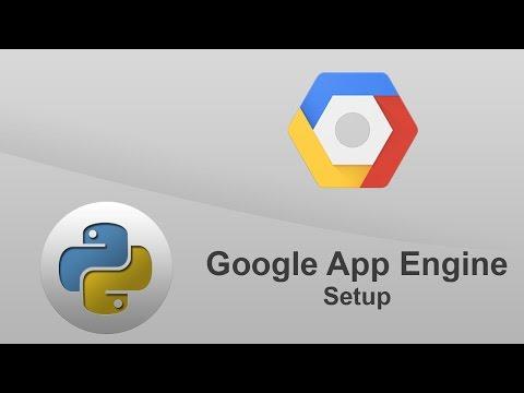 Python Google App Engine - Hello World - SETUP
