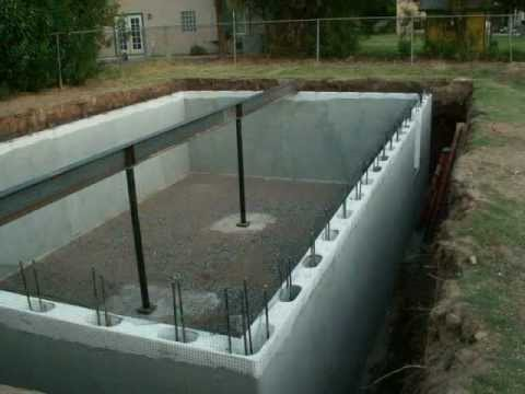 Green Rhino Building Systems Basement Project