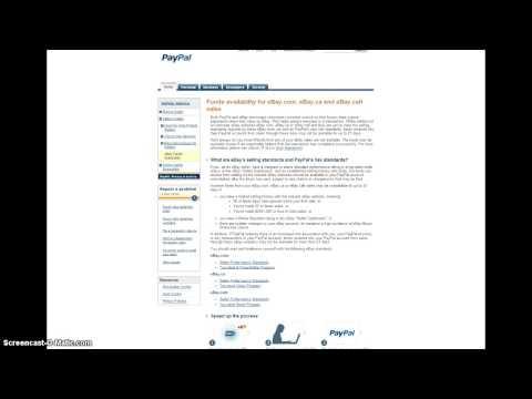 eBay Funds Availability Program