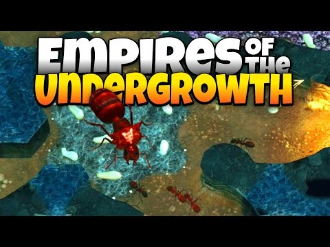 Building an Ant Empire! - New Sim Ant Like Game - Empires of the Undergrowth Gameplay - Demo Update
