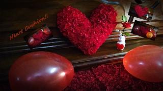 Heart Cushion - Valentines Special | Fluffy Heart Cushion