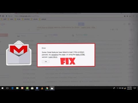 How to FIx Gmail Error Some Gmail Features Have Failed To Load in Google Chrome