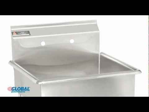Stainless Steel Mop & Maintenance Sink