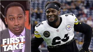 Stephen A. can't see Le'Veon Bell getting 'money he richly deserves' | First Take
