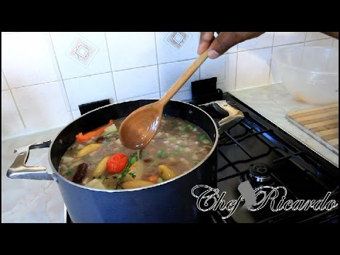 Jamaican Red Peas Soup With Beef - | Recipes By Chef Ricardo