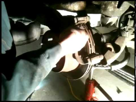 How to replace the rear brakes of (S10 pick up truck)