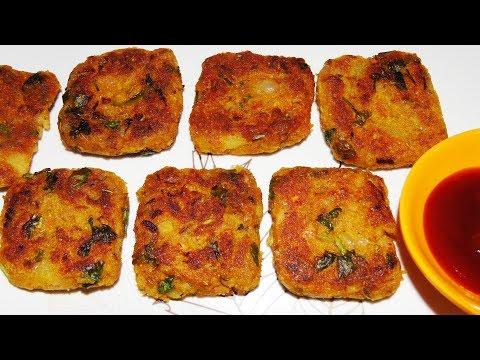 Evening Snacks Recipe in Tamil - Soya Chunk Roti - Aloo Soya Chunk Pancake - Meal Maker Recipe