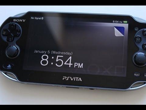 PS Vita Adding Wall paper