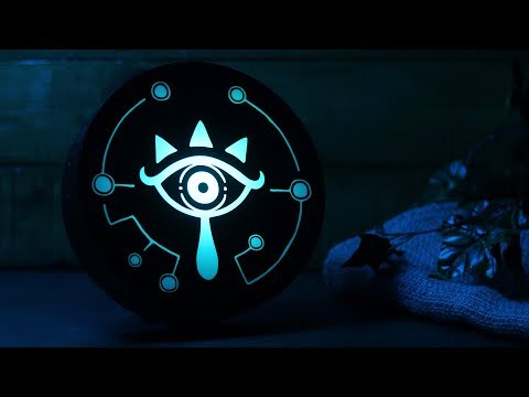The Legend Of Zelda Sheikah Eye Projection Light | Paladone