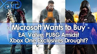 Microsoft Wants to Buy EA, Valve, PUBG Amidst Xbox One Exclusives Drought?