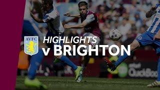 Aston Villa 1-1 Brighton   Highlights