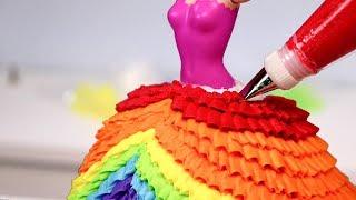10 AMAZING PRINCESS Dress CAKES 👑 Compilation!