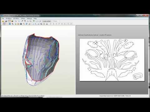 Pepakura: Prepare, Scale & Print PDO Template // How to
