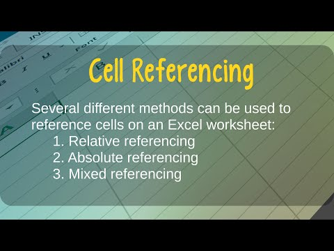 How to Use Relative, Absolute, and Mixed Cell References in Microsoft Excel
