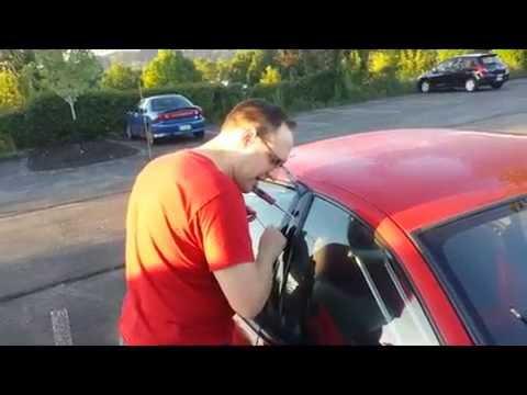 Coathanger Car Unlock