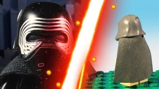 STAR WARS The Force Awakens in LEGO Stop-Motion