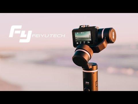 AMAZING Go Pro Hero 6 GIMBAL! | Feiyutech G6