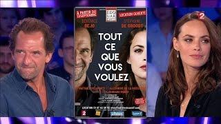 Bérénice Béjo & Stéphane De Groodt - On n'est pas couché 3 septembre 2016 #ONPC