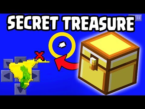 How To Find SECRET TREASURE Chests in Minecraft 1.13 Update (Pocket Edition, Xbox, PC, PE)