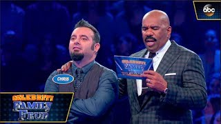 Boy Band Stars Play Fast Money - Celebrity Family Feud