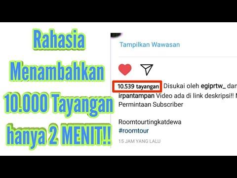 Cara Menambah 10.000 Tayangan Video instagram Tanpa aplikasi - TUTORIAL INSTAGRAM