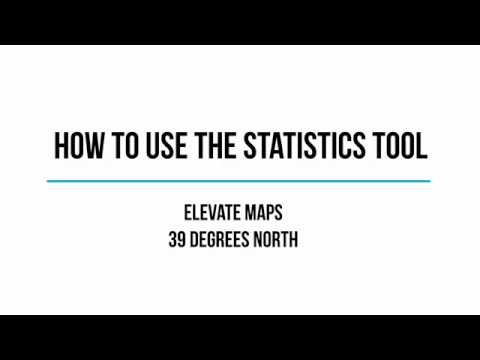 How to use the Statistics Tool