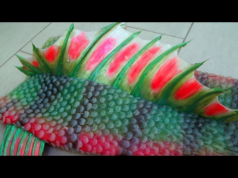 How to make silicone mermaid tail fins