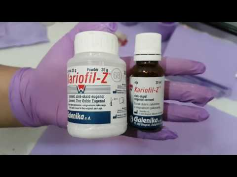 Dental Materials And Their Clinical Applications   ZOE [ Zinc Oxide Eugenol ]