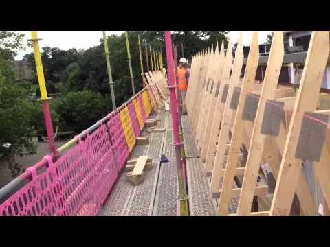 Time lapse fixing trusses