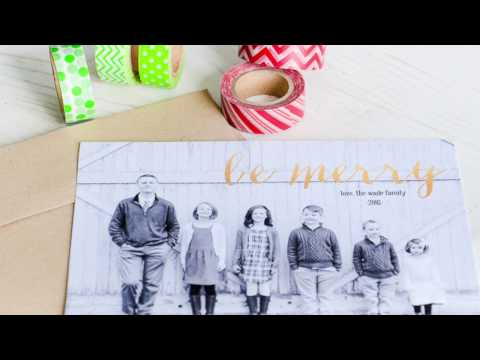 Make Creative Christmas Cards in 10 Minutes Using Photoshop Elements 15