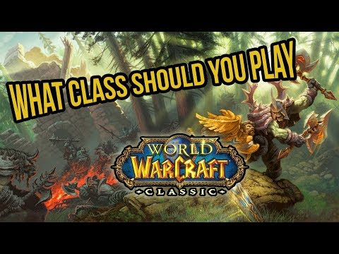 What Class Should You Roll In Classic World of Warcraft?