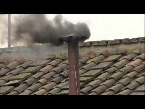 Black Smoke From Sistine Chapel, No Pope Yet