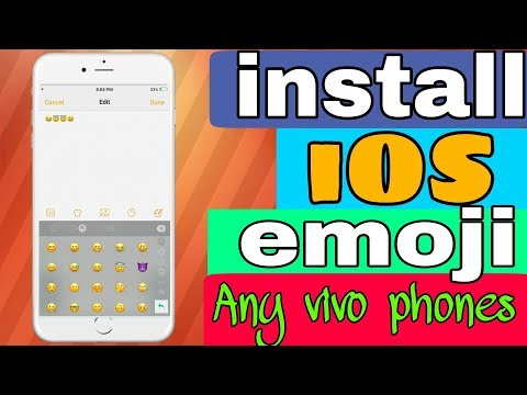 How install iOS emoji any vivo phones without root