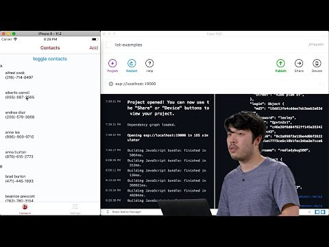 Data - Lecture 7 - CS50's Mobile App Development with React Native