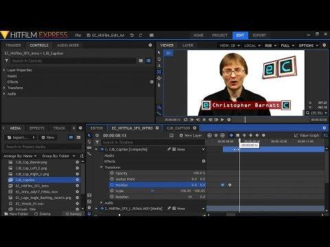 HitFilm Express Compositing & Motion Graphics