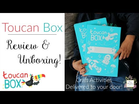 Toucan Box Review & Unboxing! | Arts and Crafts Subscription UK