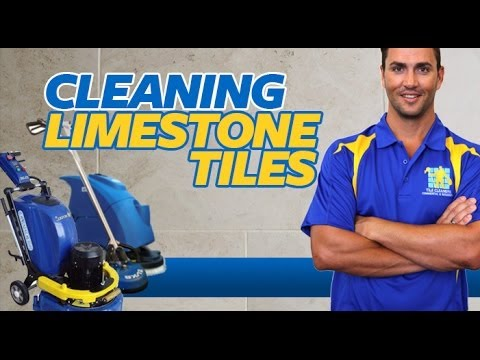 HOW TO CLEAN LIMESTONE TILES