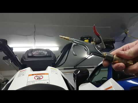 How to remove atv handle bar grips with ease