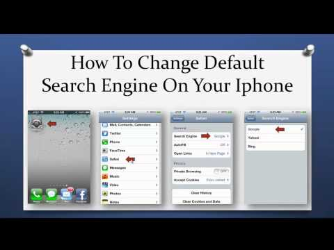 How To Change The Default Search Engine On Your IPhone