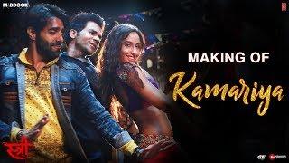 Making Of Kamariya Video | STREE | Nora Fatehi | Rajkummar Rao | Aastha Gill, Divya Kumar