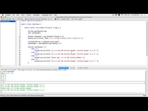 99. The break statement in the switch control structure and fall through - Learn Java