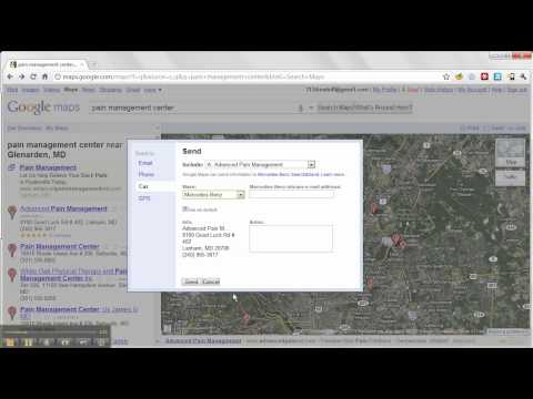 How to Send Google Maps to Your Car