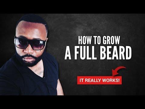 How To Grow A Beard Fast - Beard Growth Oil
