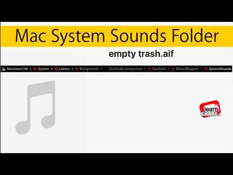 Find Sounds on Mac? Apple Mac System Sounds Folder Path Location