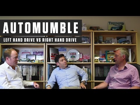 Automumble - Left Hand Drive VS Right Hand Drive (UK)